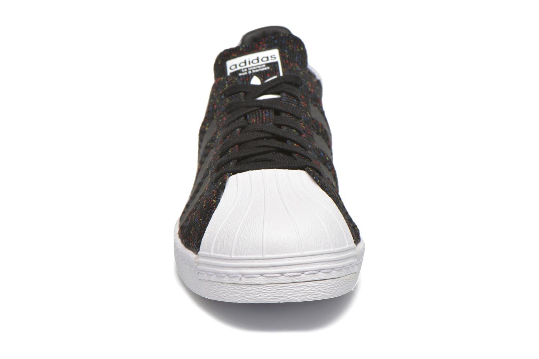 Baskets Adidas Originals Superstar 80S Pk Noir vue portées chaussures