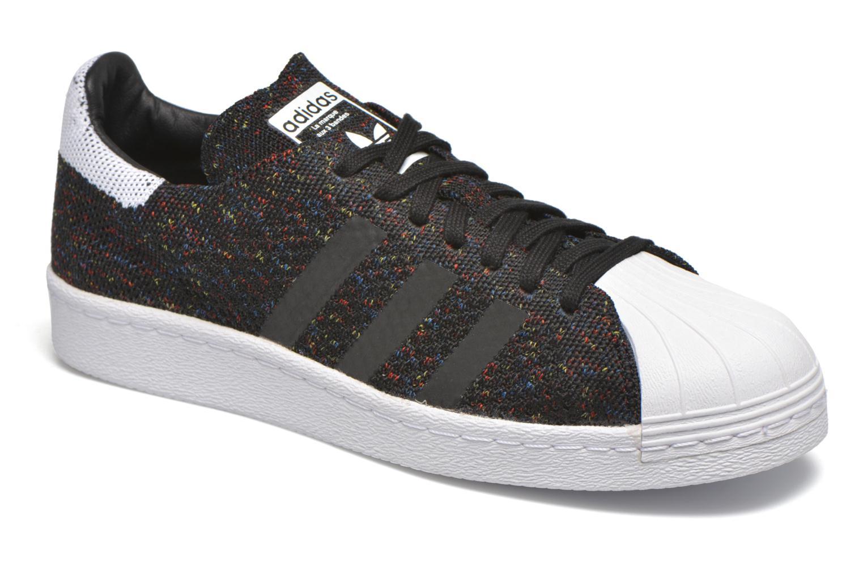 Baskets Adidas Originals Superstar 80S Pk Noir vue détail/paire