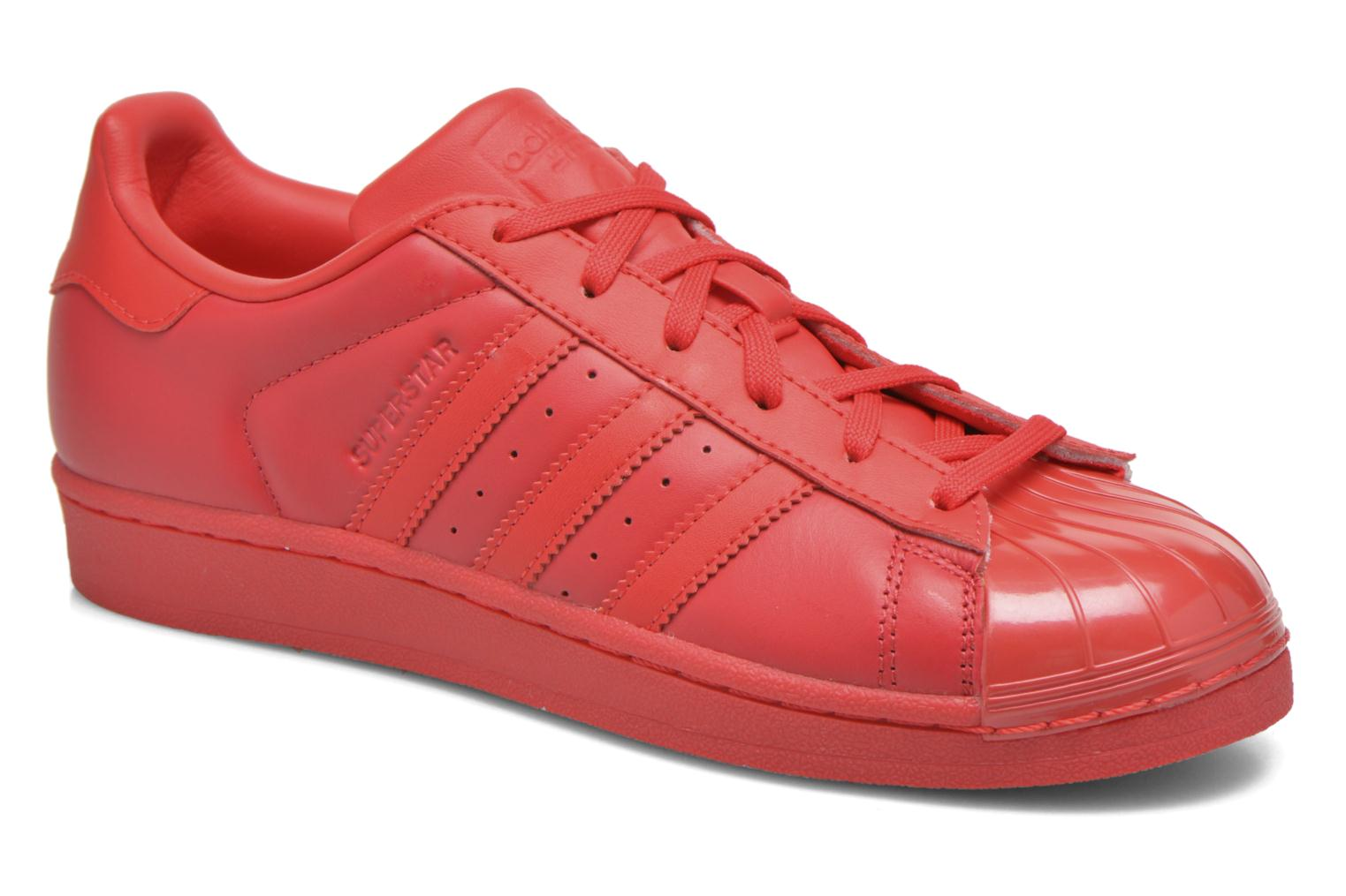 adidas originals superstar rood