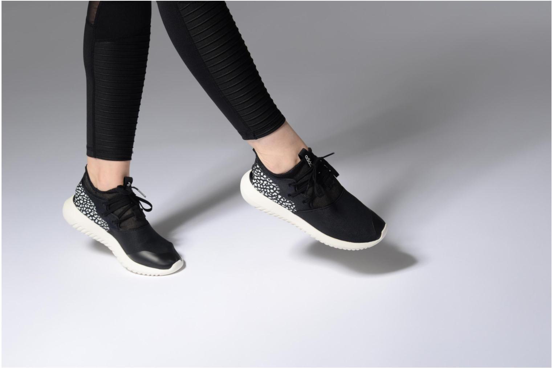 Deportivas Adidas Originals Tubular Entrap W Negro vista de abajo