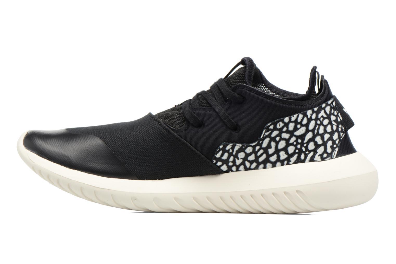 Deportivas Adidas Originals Tubular Entrap W Negro vista de frente