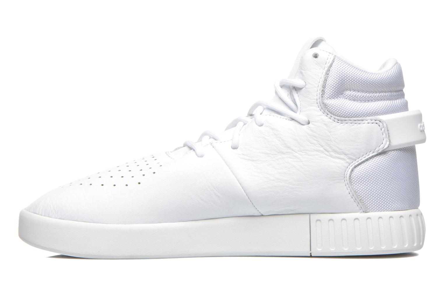 Baskets Adidas Originals Tubular Invader Blanc vue face