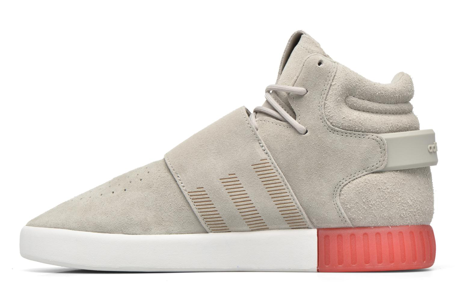 Baskets Adidas Originals Tubular Invader Strap Gris vue face