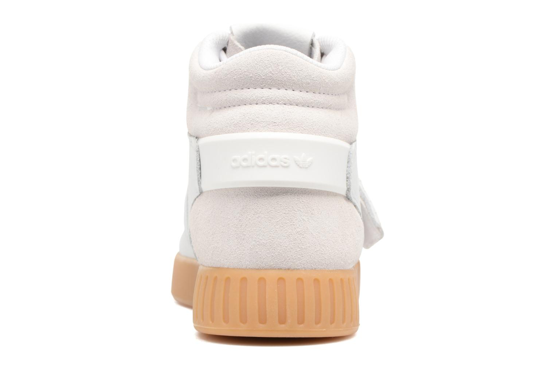 Baskets Adidas Originals Tubular Invader Strap Gris vue droite