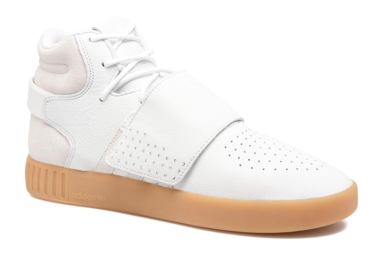 Baskets Adidas Originals Tubular Invader Strap Gris vue détail/paire