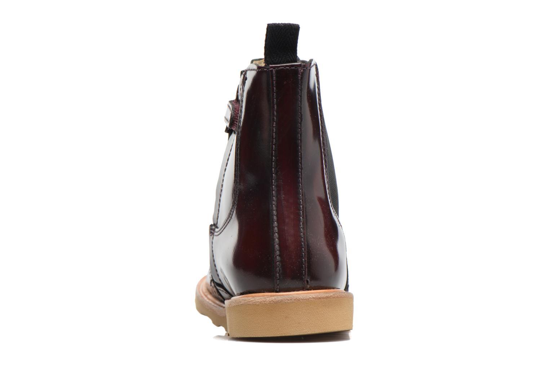 Bottines et boots Young Soles Francis Bordeaux vue droite