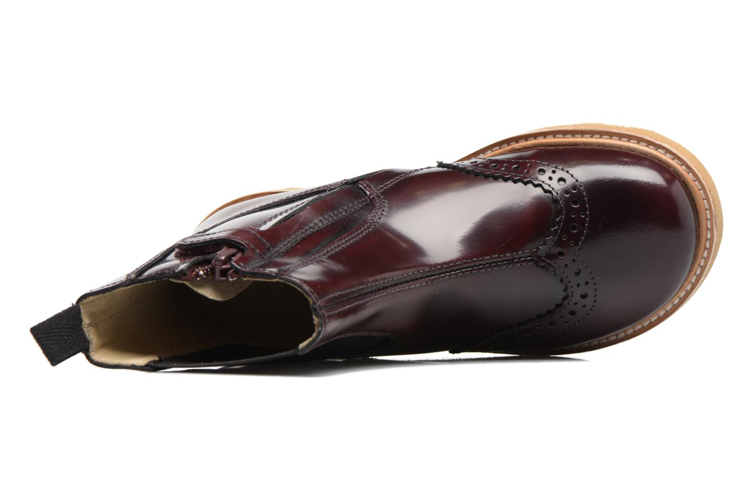 Francis Oxblood High Shine Leather