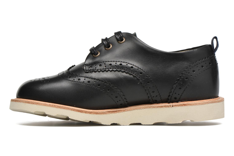 Chaussures à lacets Young Soles Brando Noir vue face
