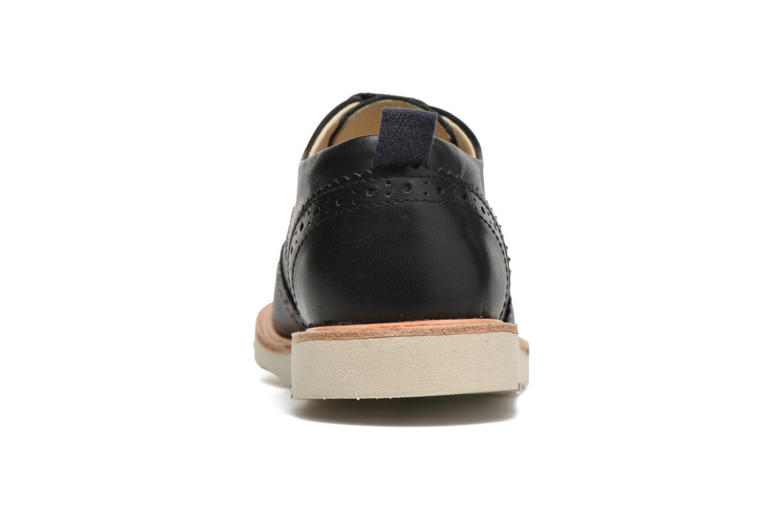 Chaussures à lacets Young Soles Brando Noir vue droite