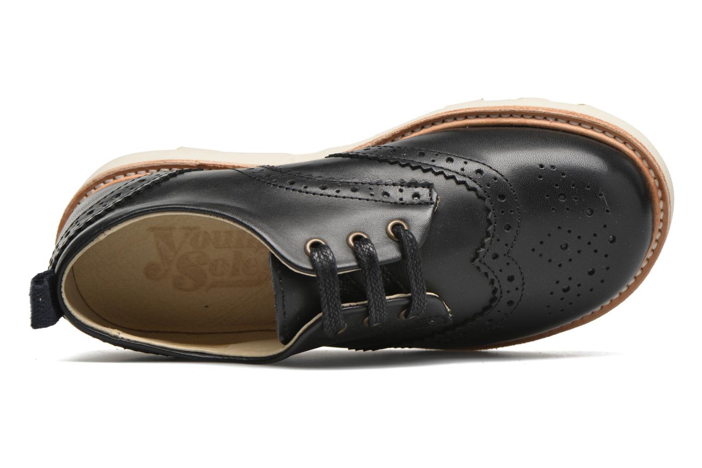 Chaussures à lacets Young Soles Brando Noir vue gauche