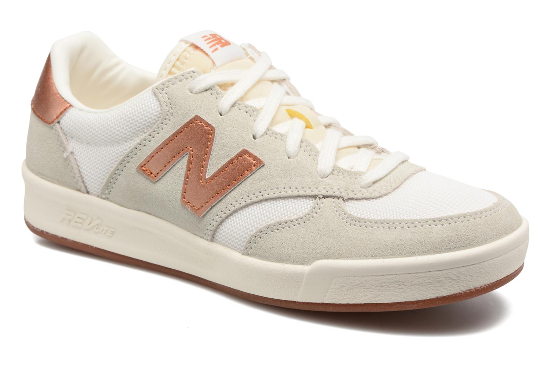 Baskets New Balance WRT300 Blanc vue détail/paire