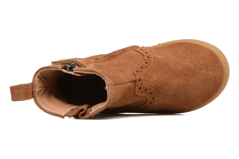 Wouf Boots Velours Cognac