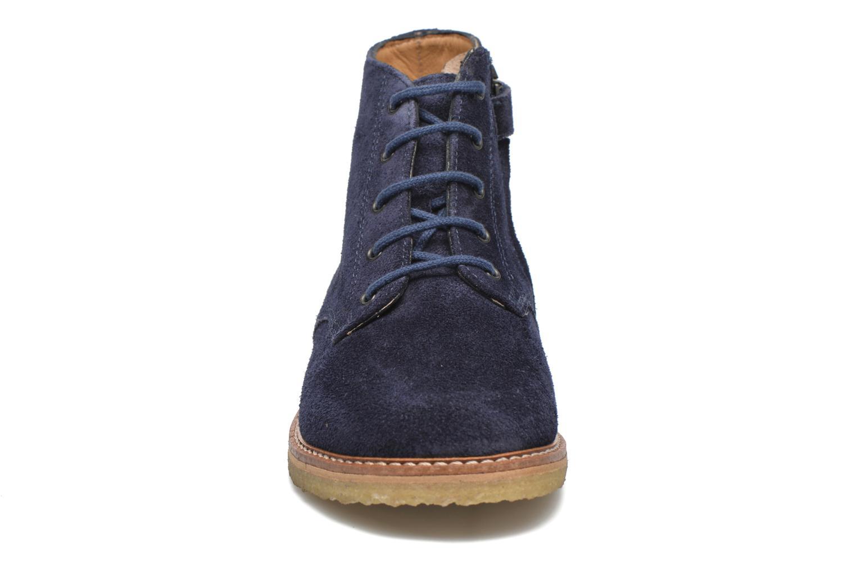 Bottines et boots Pom d Api Pat Brogue Bleu vue portées chaussures