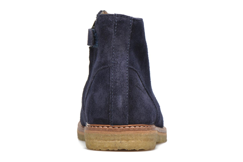 Bottines et boots Pom d Api Pat Brogue Bleu vue droite