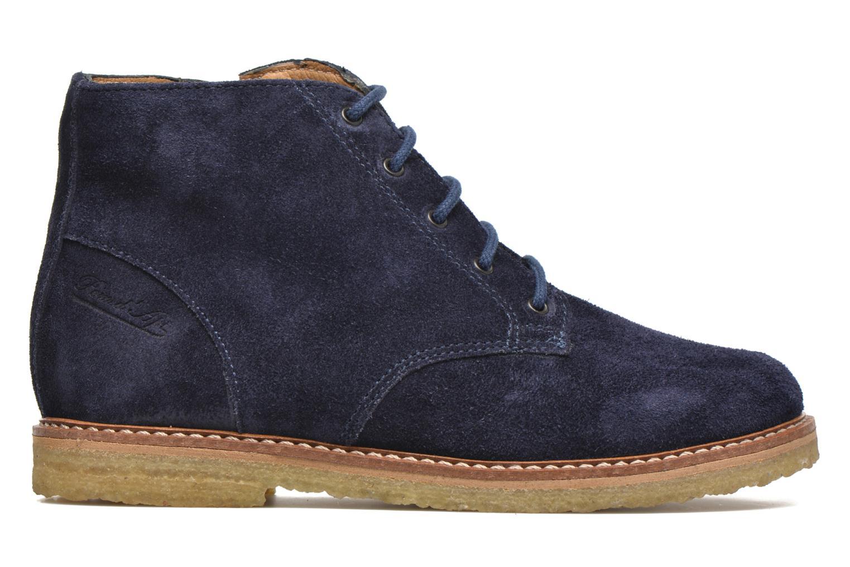 Bottines et boots Pom d Api Pat Brogue Bleu vue derrière