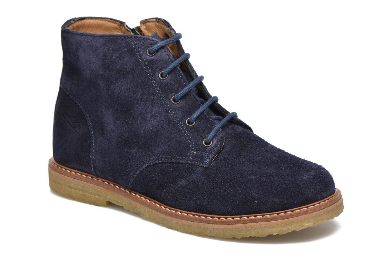 Bottines et boots Pom d Api Pat Brogue Bleu vue détail/paire