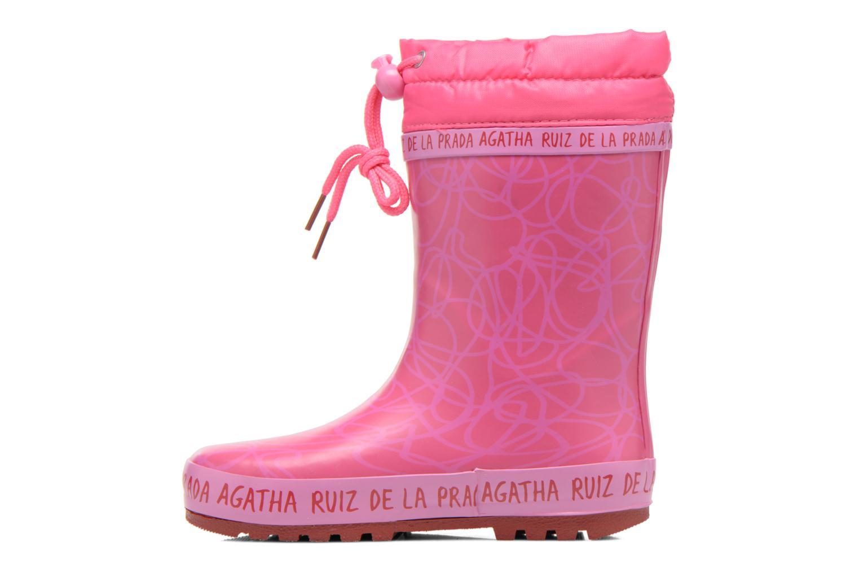 Bottes Agatha Ruiz de la Prada Solka Rose vue face