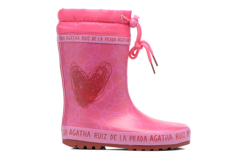 Bottes Agatha Ruiz de la Prada Solka Rose vue derrière