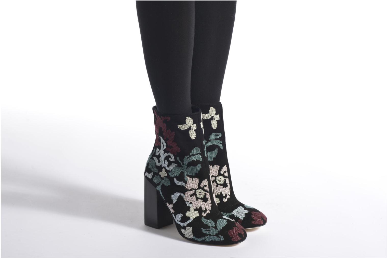 Bottines et boots Rebecca Minkoff BOJANA Multicolore vue bas / vue portée sac