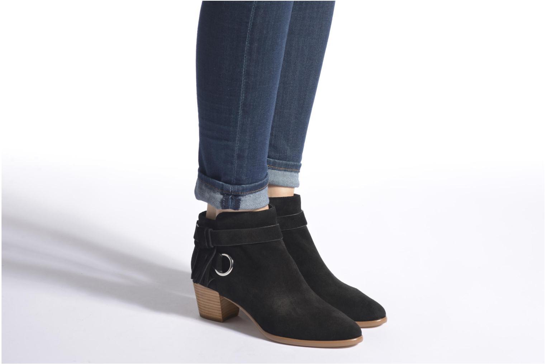 Bottines et boots Rebecca Minkoff SELENA Noir vue bas / vue portée sac