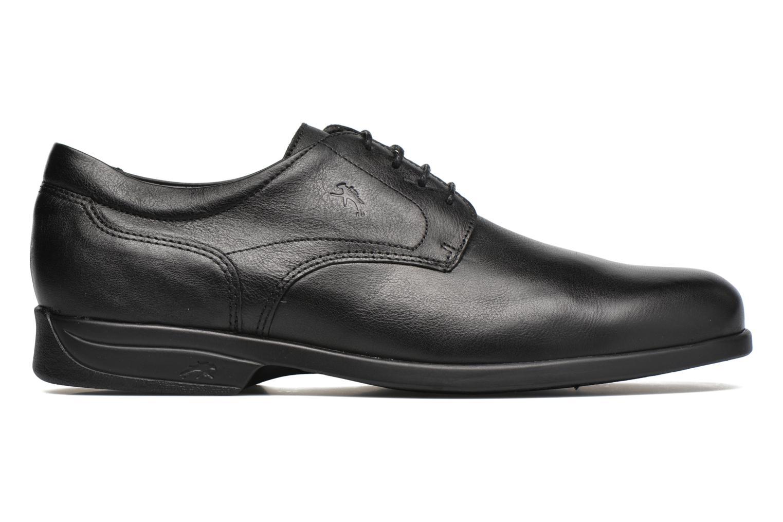 Chaussures à lacets Fluchos Maitre 8904 Noir vue derrière