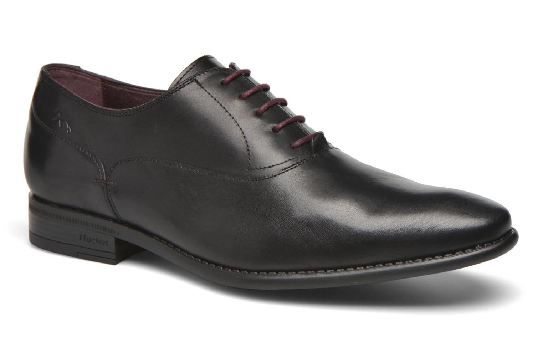 Chaussures à lacets Fluchos Alex 9209 Noir vue détail/paire