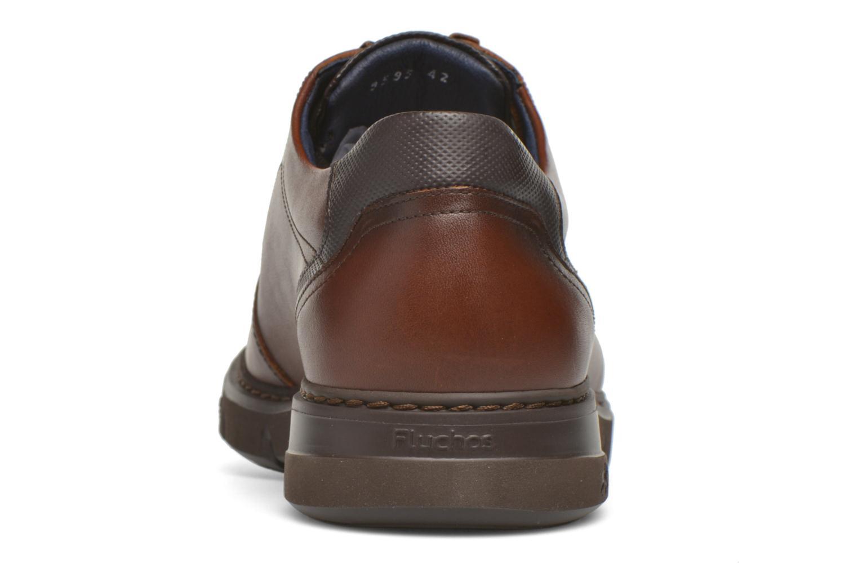 Chaussures à lacets Fluchos Celtic 9595 Marron vue droite