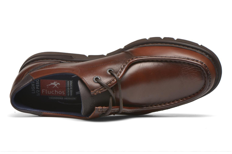 Chaussures à lacets Fluchos Celtic 9595 Marron vue gauche