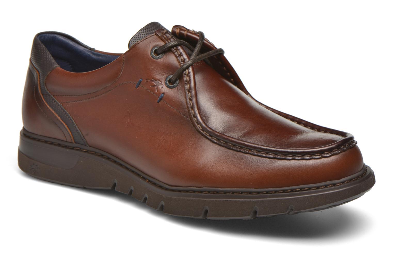 Chaussures à lacets Fluchos Celtic 9595 Marron vue détail/paire
