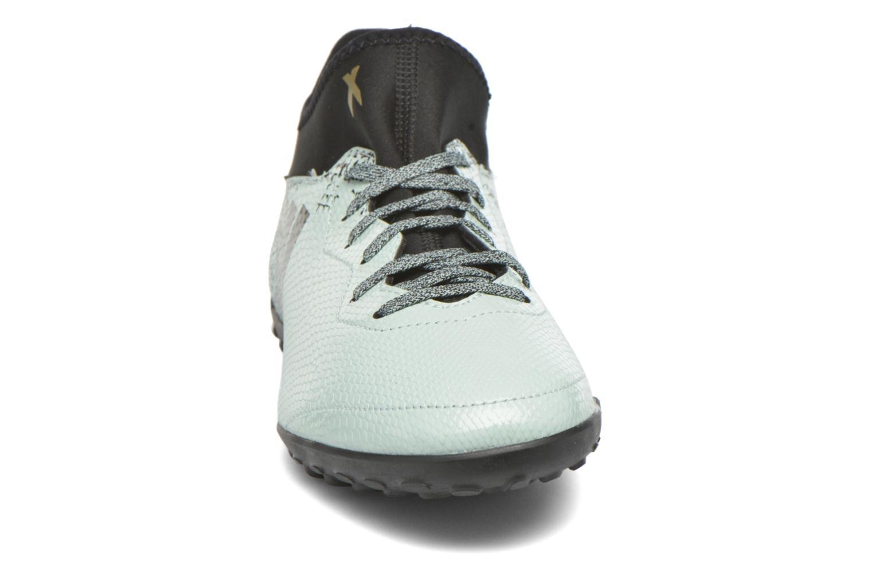 Chaussures de sport Adidas Performance X 16.3 Cage Gris vue portées chaussures