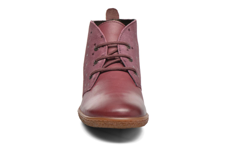 Bottines et boots Kickers Verblue Rose vue portées chaussures