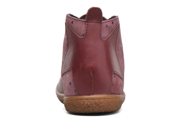 Bottines et boots Kickers Verblue Rose vue droite