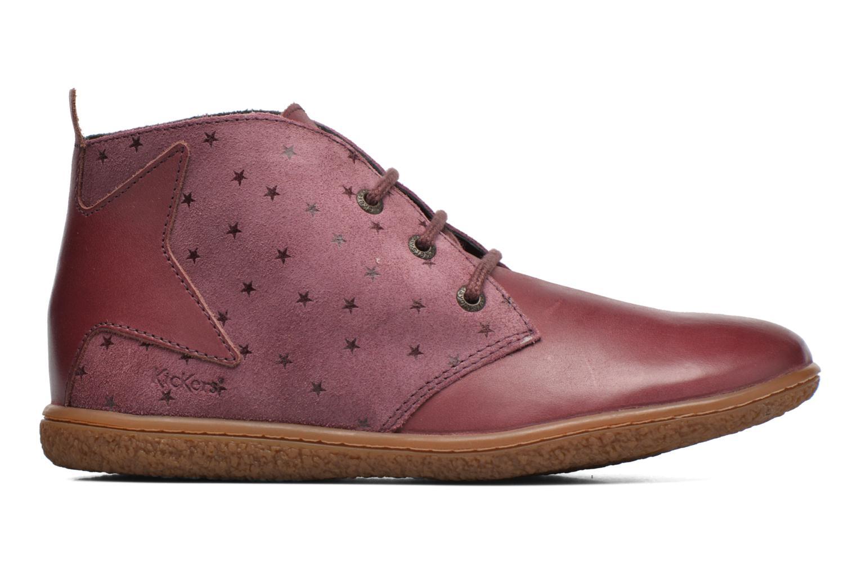 Bottines et boots Kickers Verblue Rose vue derrière