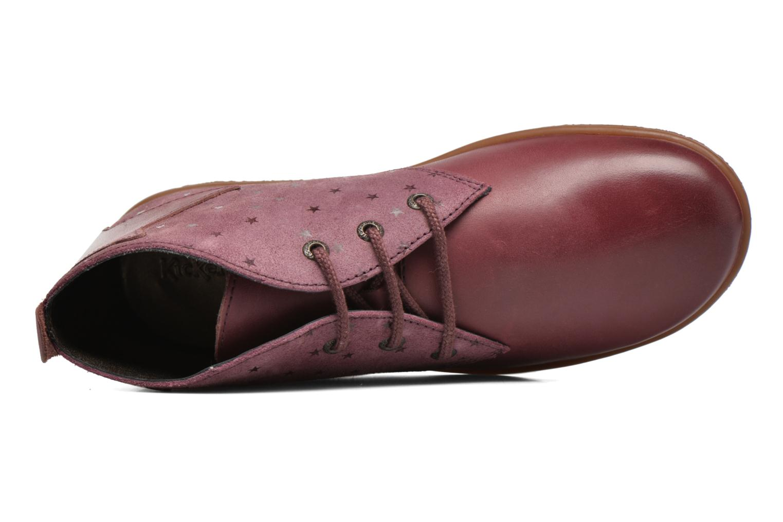 Bottines et boots Kickers Verblue Rose vue gauche