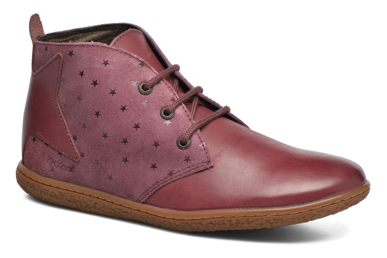 Bottines et boots Kickers Verblue Rose vue détail/paire