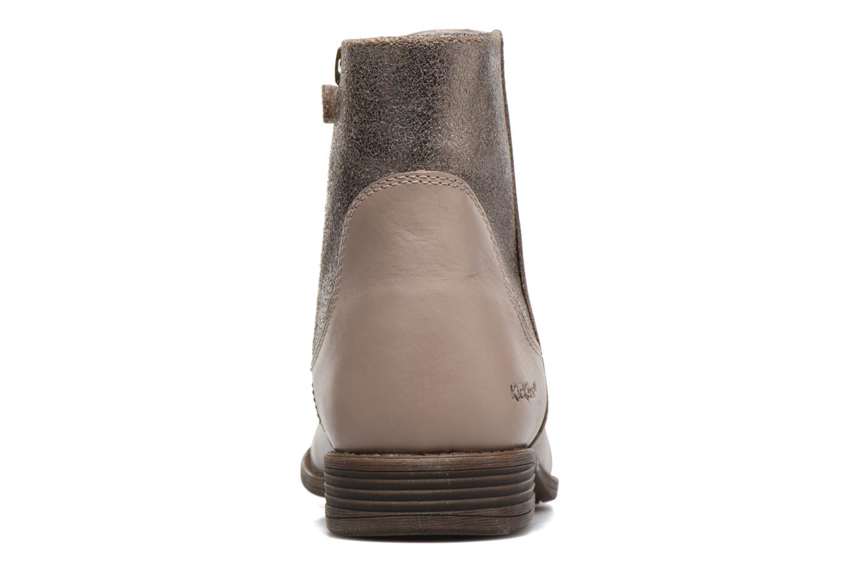 Bottines et boots Kickers Rusty Beige vue droite