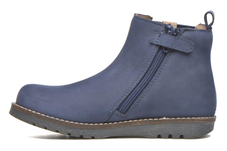 Bottines et boots Kickers Haka Bleu vue face