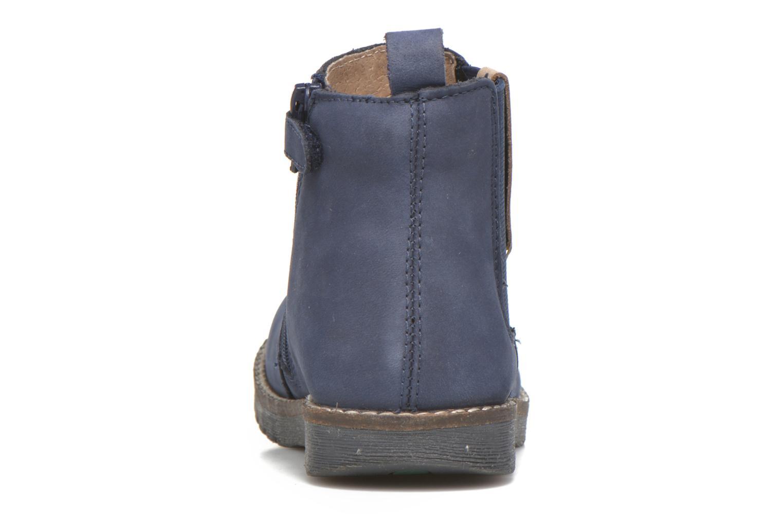 Bottines et boots Kickers Haka Bleu vue droite