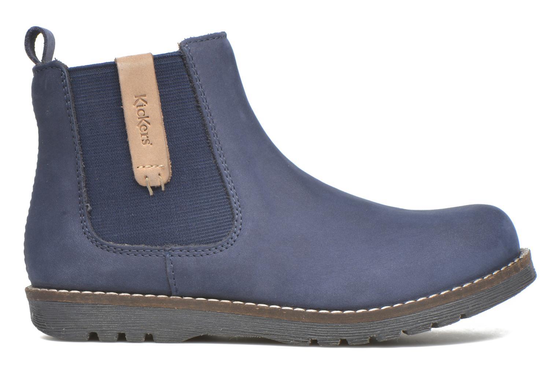 Bottines et boots Kickers Haka Bleu vue derrière