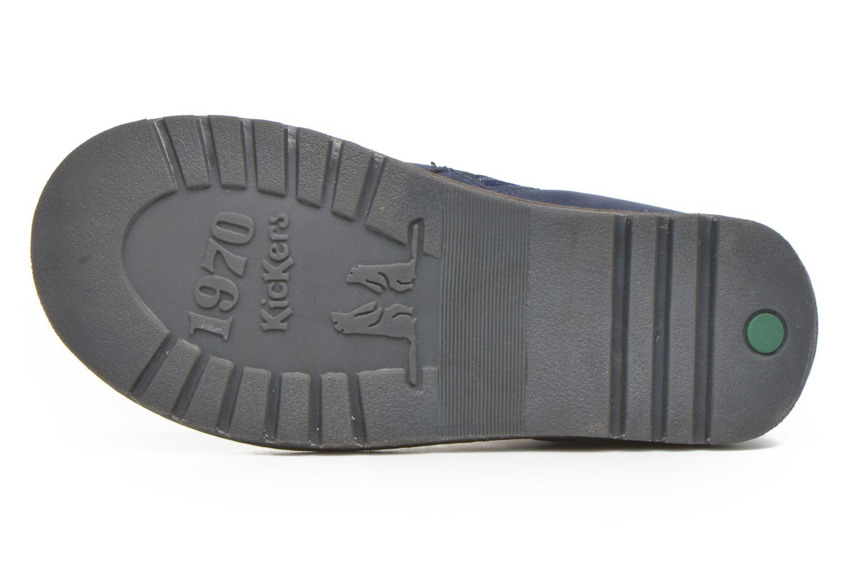 Bottines et boots Kickers Haka Bleu vue haut