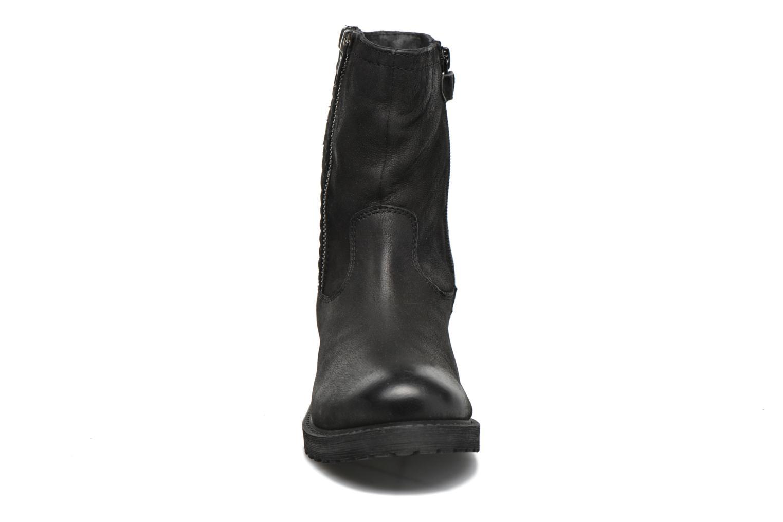 Bottes Kickers Hidare Noir vue portées chaussures