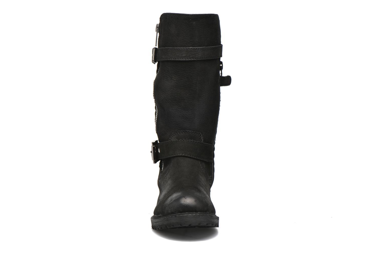 Bottes Kickers Hidoo Noir vue portées chaussures