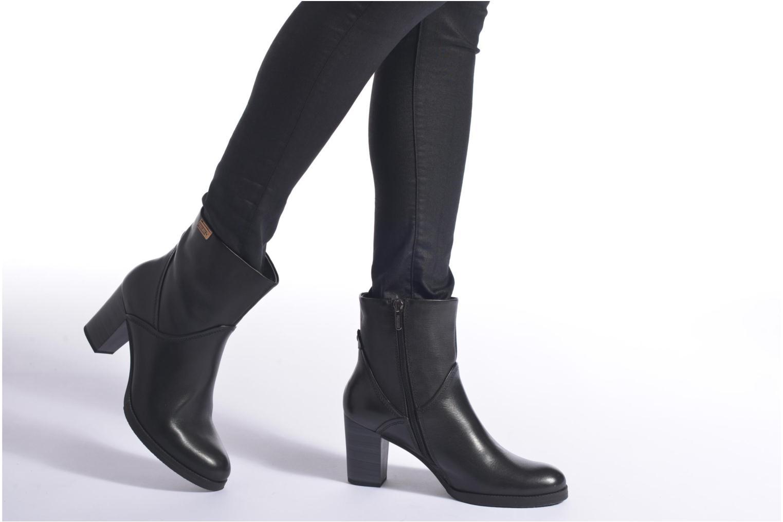 Bottines et boots Pikolinos KENORA W8H-8810 Noir vue bas / vue portée sac