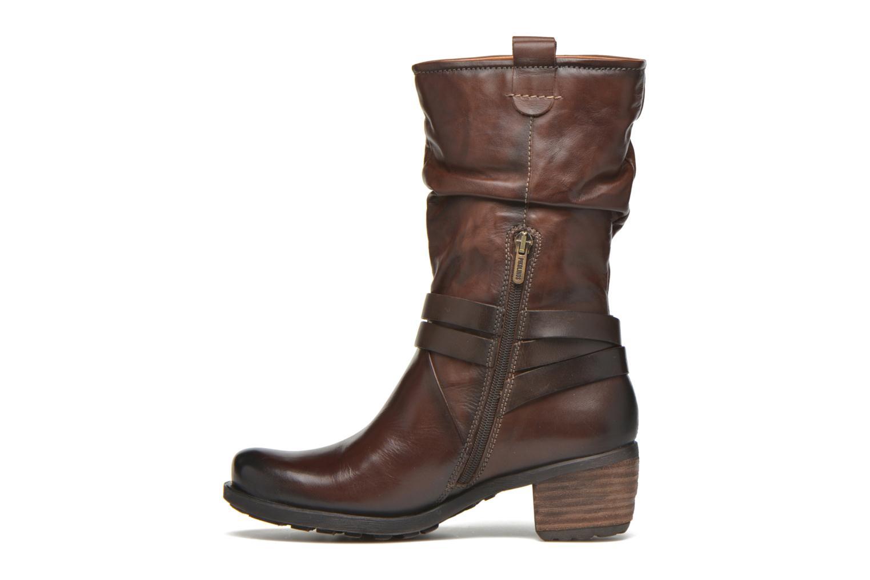 Boots en enkellaarsjes Pikolinos LE MANS 838-9794 Bruin voorkant