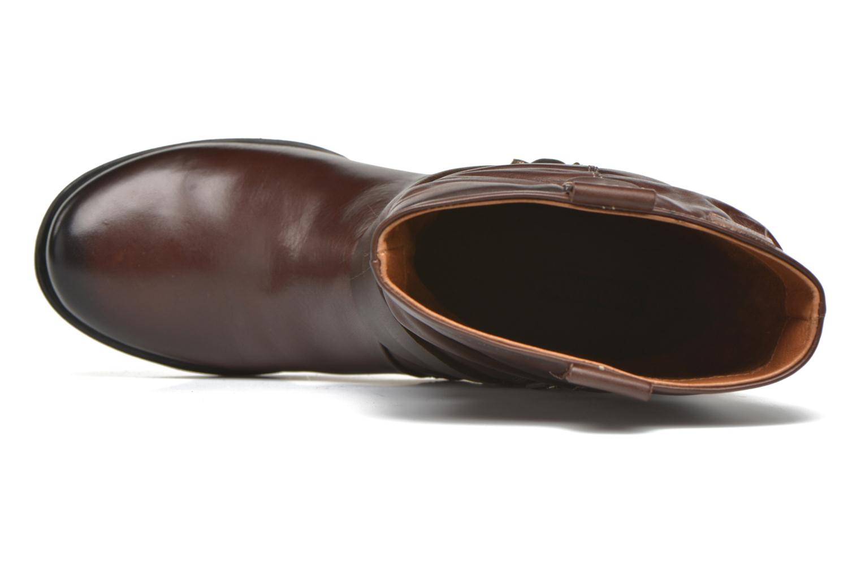 Boots en enkellaarsjes Pikolinos LE MANS 838-9794 Bruin links