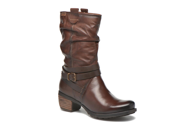 Boots en enkellaarsjes Pikolinos LE MANS 838-9794 Bruin detail