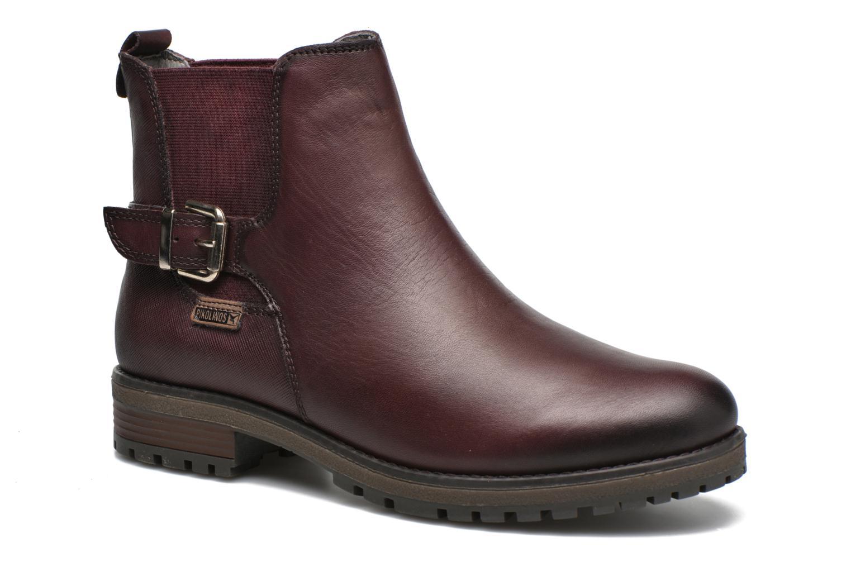 Bottines et boots Pikolinos SANTANDER W4J-8781 Violet vue détail/paire