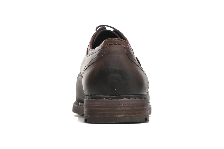 Chaussures à lacets Pikolinos CACERES M9E-4107SP Marron vue droite