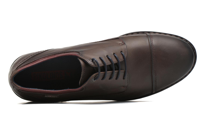 Chaussures à lacets Pikolinos CACERES M9E-4107SP Marron vue gauche