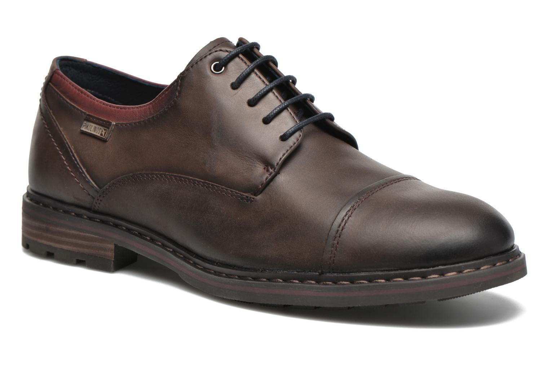 Chaussures à lacets Pikolinos CACERES M9E-4107SP Marron vue détail/paire